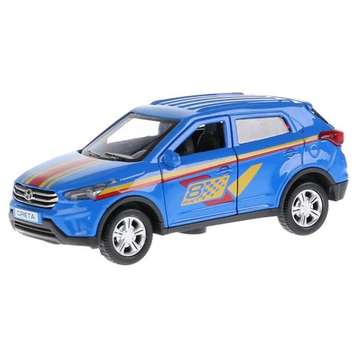 Внедорожник ТЕХНОПАРК Hyundai Creta (CRETA-S/RD/BK) 12 см синийМашинки и техника<br>