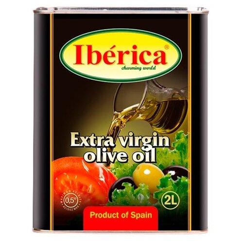 Iberica Масло оливковое extra virgin, жестяная банка, 2 л