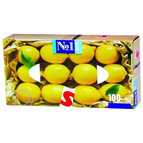 Платочки Bella №1 с ароматом лимона, 100 шт.  - Купить