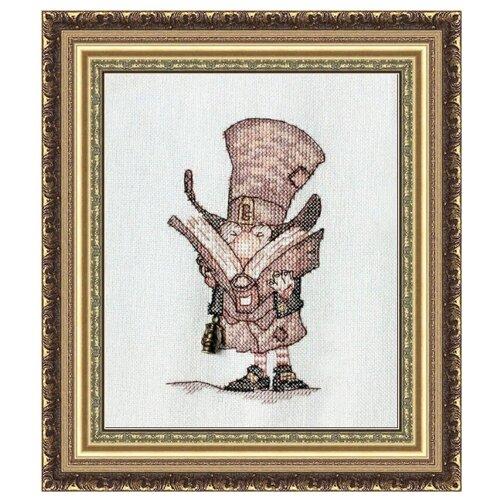 Фото - NeoCraft Набор для вышивания крестиком Джентльмен с книгой 16 x 20 см (мн-12) neocraft набор для вышивания крестиком тихий час 17 x 25 см мн 09