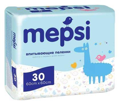 Одноразовые пеленки Mepsi 60х60 30 шт.