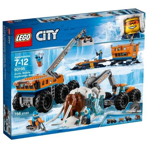 Купить Конструктор LEGO City 60195 Передвижная арктическая база, Конструкторы