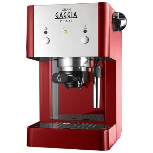 Кофеварка рожковая Gaggia Gran De Luxe красный