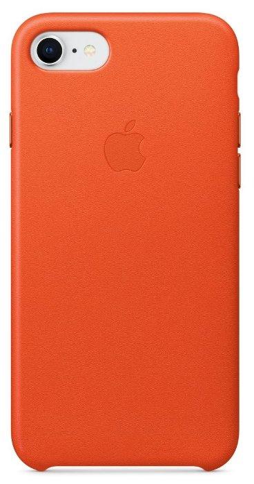 Чехол Apple для iPhone 8/7 Leather Case MQH92ZM/A, black
