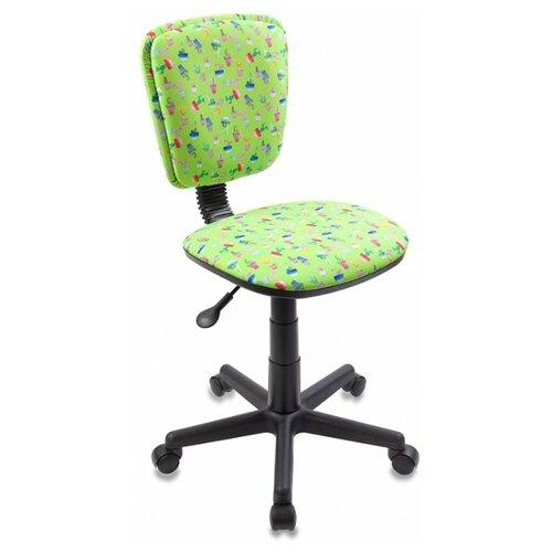 Компьютерное кресло Бюрократ CH-204NX детское детское, обивка: текстиль, цвет: зеленый кактусы детское компьютерное кресло бюрократ кресло детское ch 204 f
