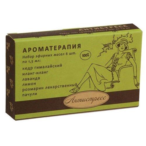 Купить Botanika набор эфирных масел Ароматерапия Антистресс 6 шт. 9 мл