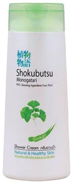 Крем гель для душа Shokubutsu Ginkgo