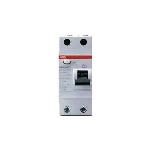 УЗО ABB 30мА тип AC FH202 (2CSF202004R1630) 2 полюса 63 АУстройства защитного отключения (УЗО)<br>