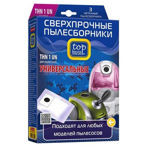 цена на Top House Пылесборники THN 1 UN белый 3 шт.