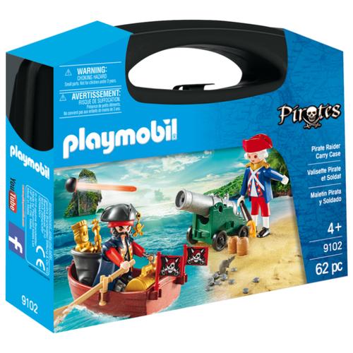 Фото - Набор с элементами конструктора Playmobil Pirates 9102 Охотник за сокровищами playmobil® конструктор playmobil охотник за привидениями