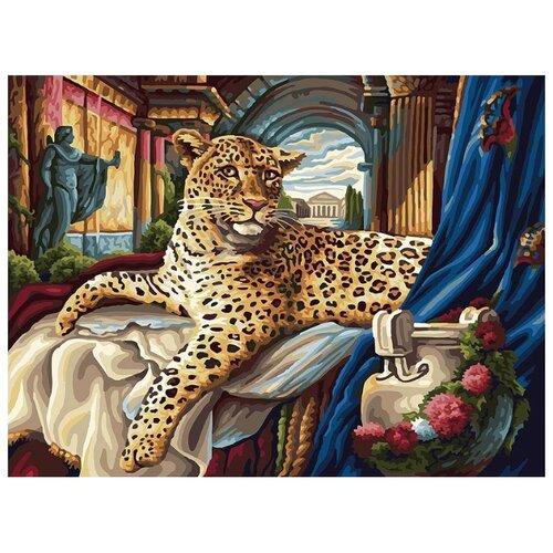 Белоснежка Картина по номерам Римский леопард 30х40 см (165-AS) белоснежка картина по номерам отражения солнца 30х40 см 264 as