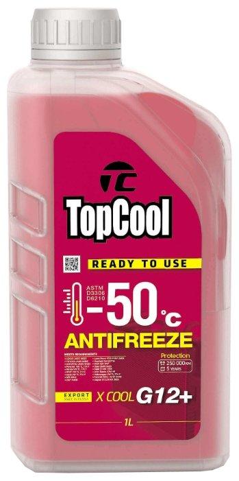 Антифриз готовый розовый TOPCOOL Antifreeze X Cool -50 G12+ 1л