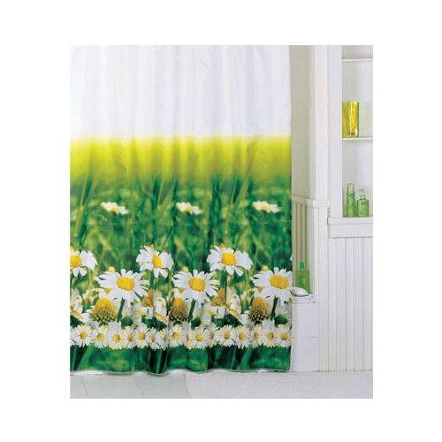 Штора для ванной IDDIS SCID050P 200x200 белый/зеленый