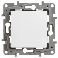 Выключатель / переключатель Legrand Etika 672201 10А белый