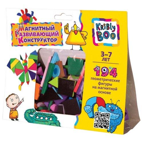 Купить Kribly Boo Магнитный геометрический конструктор 194 элементов (47079), Мозаика