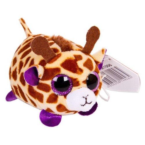 Мягкая игрушка ABtoys Жираф коричневый 6 см
