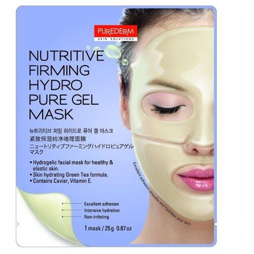 Purederm Гидрогелевая маска для укрепления и питания кожи, 25 гМаски<br>