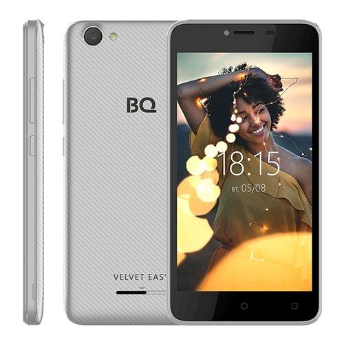 Смартфон BQ 5000G Velvet Easy серебристый смартфон