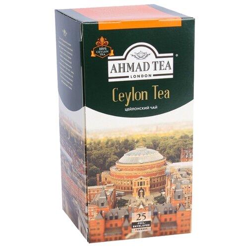 Чай черный Ahmad Tea Ceylon в пакетиках, 50 г, 25 шт. чай ahmad tea ceylon черный 25 пакетиков