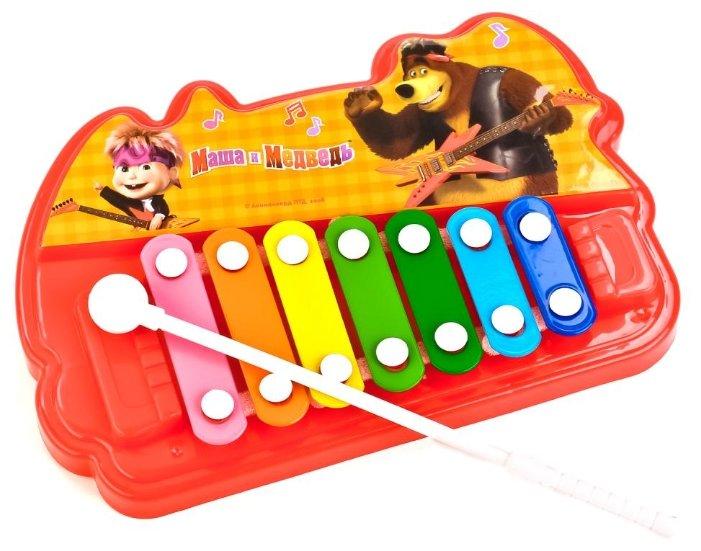 Играем вместе металлофон Маша Медведь 1610M480-R