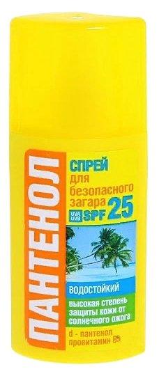 Биокон Спрей для безопасного загара Пантенол SPF 25