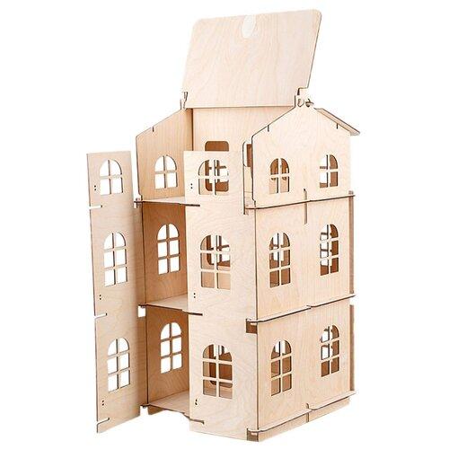 Купить DOMIK.TOYS кукольный домик Совёнок-Барни, Кукольные домики