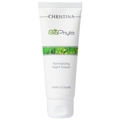 Купить Christina Bio Phyto Normalizing Night Cream Нормализующий ночной крем для лица, 75 мл