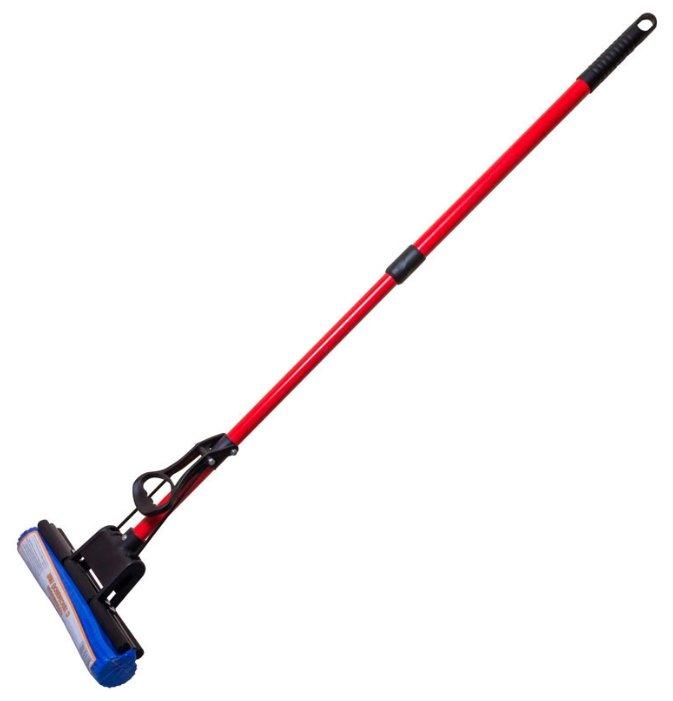 Швабра Рыжий кот MopP-06 красный/синий