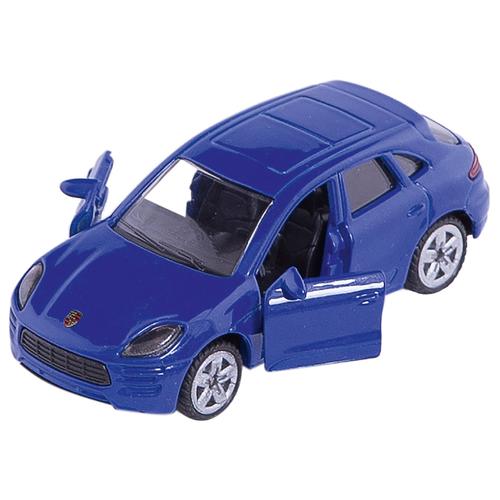 Купить Легковой автомобиль Siku Porsche Macan Turbo (1452) 1:55 8 см синий, Машинки и техника