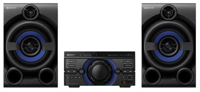 Сравнение с Музыкальный центр Sony MHC-M20D