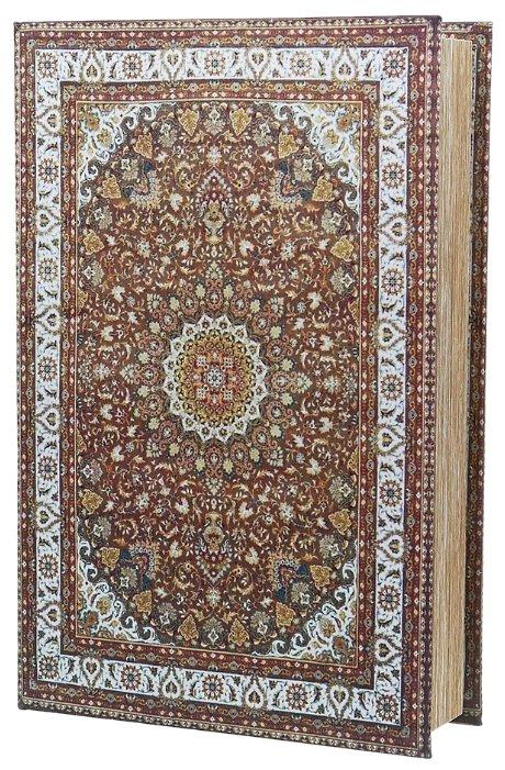 ENS Шкатулка Персидский узор, 7790183 коричневый