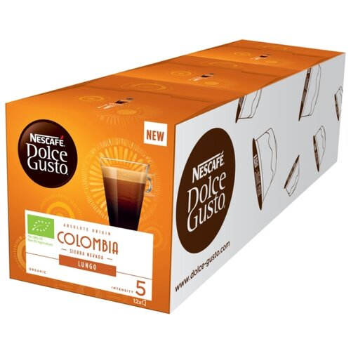 Кофе в капсулах Nescafe Dolce Gusto Lungo Colombia (36 капс.) фильтр для кофе brand new 2015 dolce gusto tea strainer