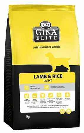 Корм для собак Gina Elite Lamb & Rice Light (18 кг)