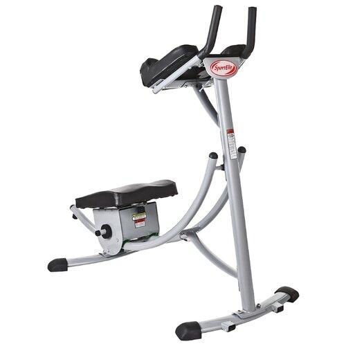 Тренажер для пресса Sport Elite AB Coaster (SE-9105) черный/серебристый степпер sport elite se 5110 сardio twister