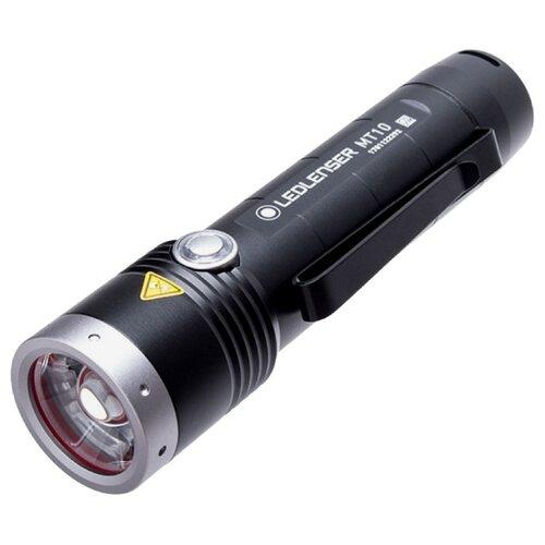 Ручной фонарь LED LENSER MT10 черный ручной фонарь led lenser p3r черный