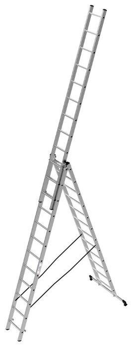 Лестница телескопическая 3-секционная ОЛИМП 1230312 A