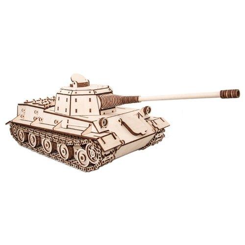 Купить Сборная модель Eco Wood Art Танк Лев, Сборные модели