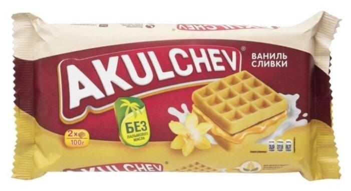 Венские вафли со сливочно-ванильной начинкой 100г
