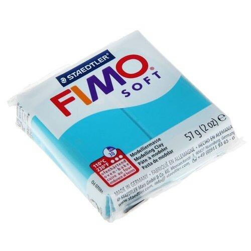Полимерная глина FIMO Soft запекаемая мята (8020-39), 57 г полимерная глина fimo soft запекаемая зеленое яблоко 8020 50 57 г
