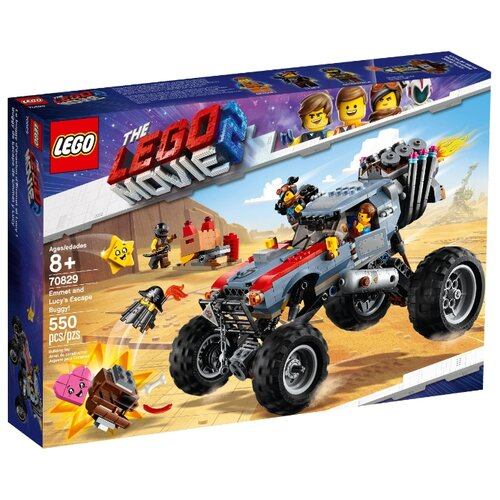 Купить Конструктор LEGO The LEGO Movie 70829 Побег Эммета и Дикарки на багги, Конструкторы