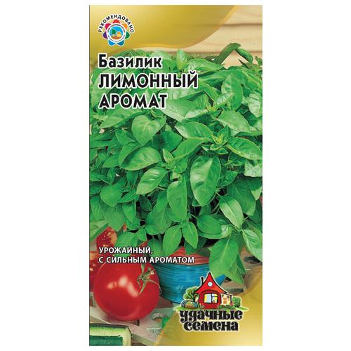 Фото - Семена Гавриш Удачные семена Базилик Лимонный аромат 0,3 г, 10 уп. семена гавриш базилик зеленый