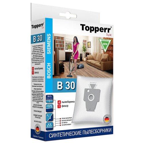 Topperr Синтетические пылесборники B30 4 шт. недорого