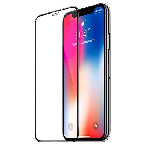 Купить Защитное стекло Hoco Fast attach A8 tempered glass для Apple iPhone X black