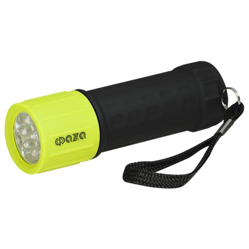 Ручной фонарь ФАZA P1-L09 зеленый/черныйФонари<br>