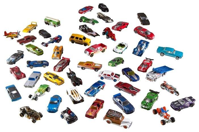 Набор машин Hot Wheels V6697 1:64 — купить по выгодной цене на Яндекс.Маркете