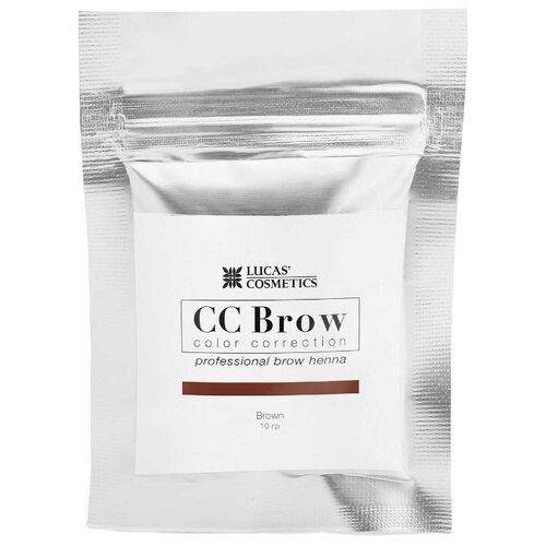CC Brow Хна для бровей в саше 10 г brown хна для бровей cc brow cc brow cc003lwxzk04