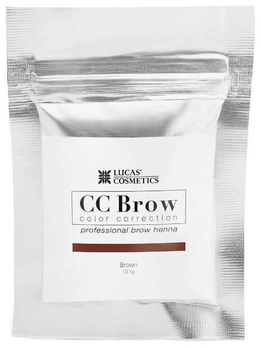CC Brow Хна для бровей в саше, 10 г. black