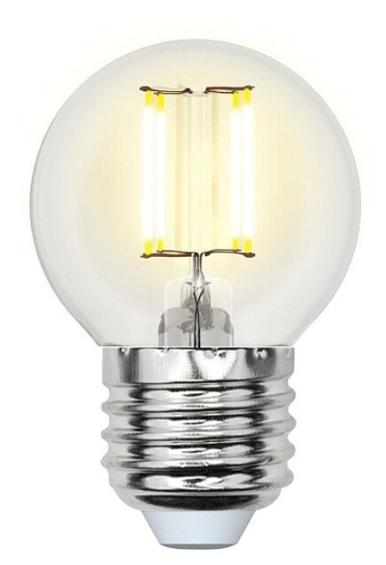 Uniel Air LED-G45-7,5W / WW / E27 / CL GLA01TR UL-00003252