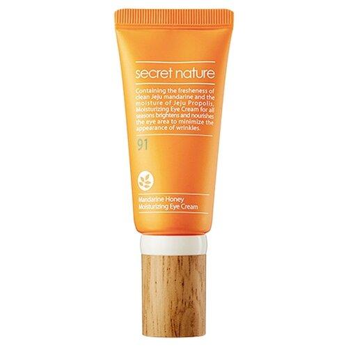 Secret Nature Крем для кожи вокруг глаз с мандарином и прополисом придающий сияние 30 млДля глаз<br>
