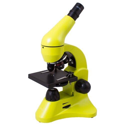 Микроскоп LEVENHUK Rainbow 50L lime микроскоп levenhuk rainbow 50l plus lime лайм